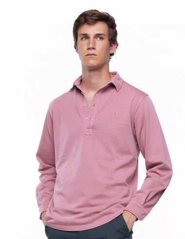 Strawberry long-sleeved polo shirt - View all > - Nícoli