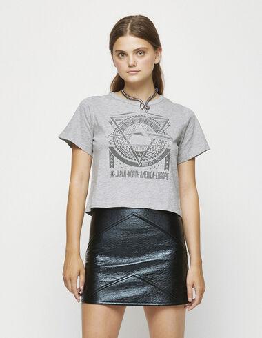 """Grey """"tour"""" charity t-shirt - Clothing - Nícoli"""