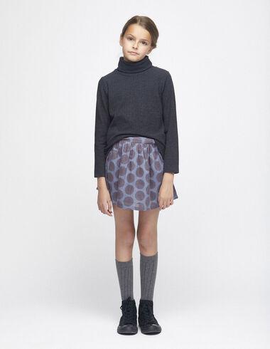 Blue polka dot skirt - View all > - Nícoli