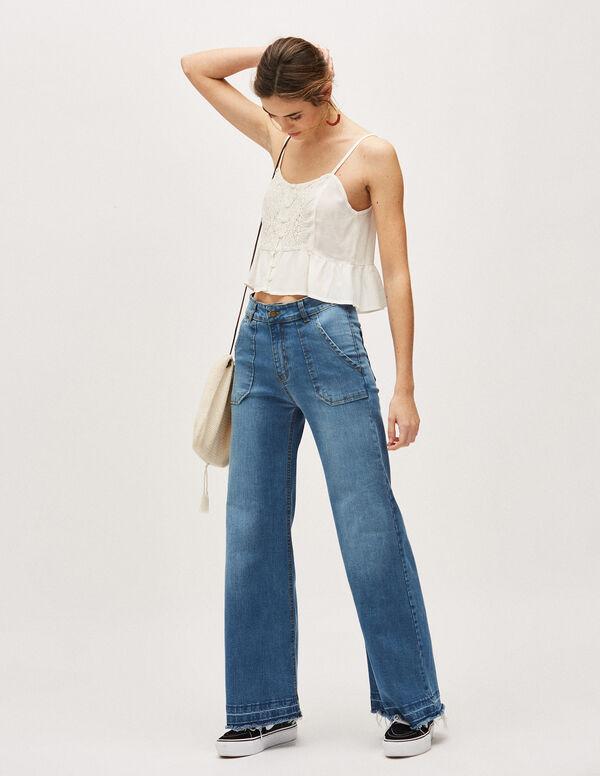 ba6399ec2 Pantalones vaqueros para mujer - comprar online
